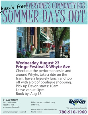 Summer Days Out - Fringe Festival