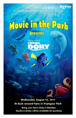 Movie in the Park presents Finding Dory