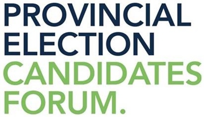 Provincial Election Candidates Forum