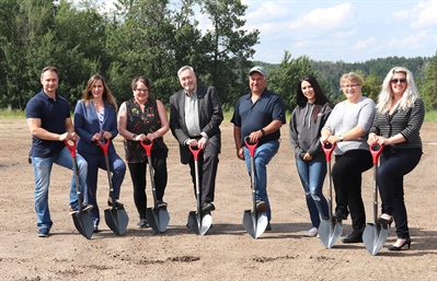 Shovels in the ground for new commercial development