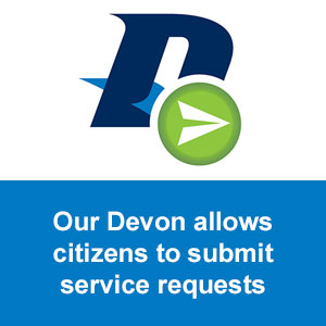 """Our Devon"" for submitting service requests"