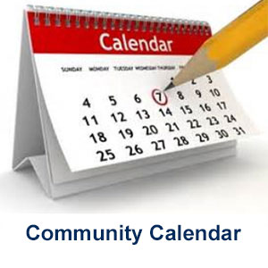 Community Calendar, See what's going on in town