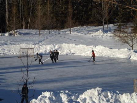 Outdoor Skating Rinks