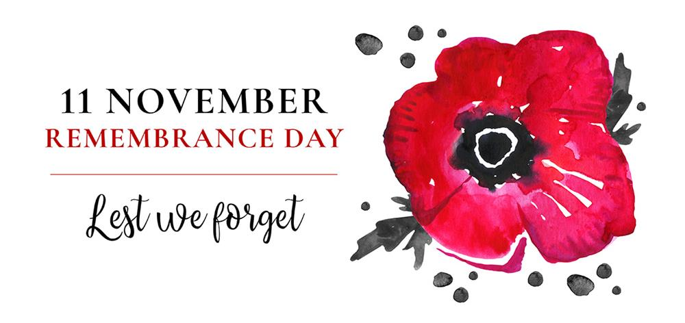 Commemorating Remembrance Day 2020