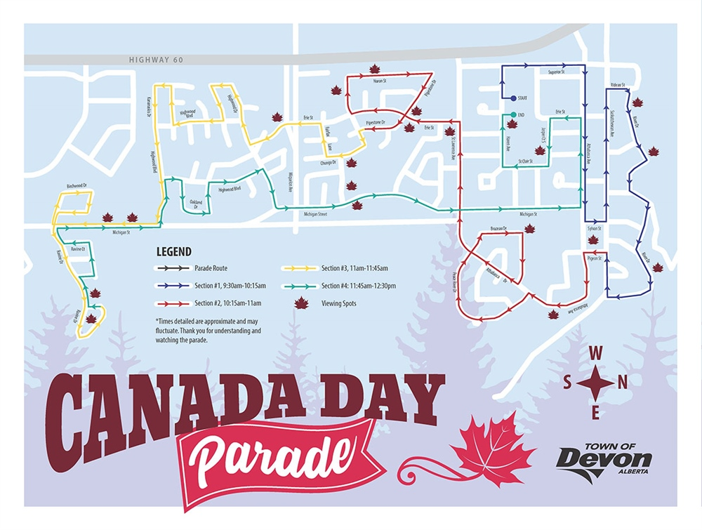 Canada Day Parade coming July 1 to a street near you