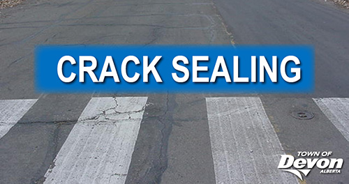 2020 roadway crack sealing program underway